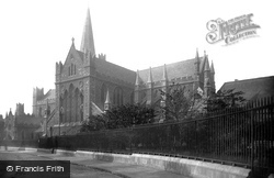 St Patrick's Cathedral 1890, Dublin