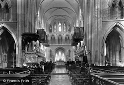 Dublin, St Patrick's Cathedral, Choir East 1897