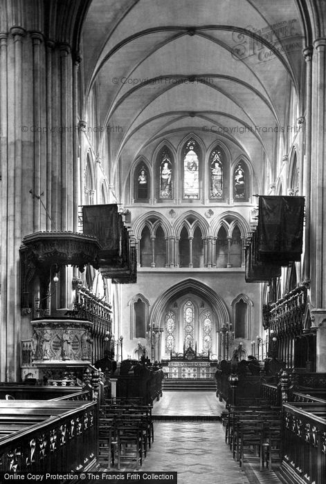 Photo of Dublin, St Patrick's Cathedral, Choir East 1897