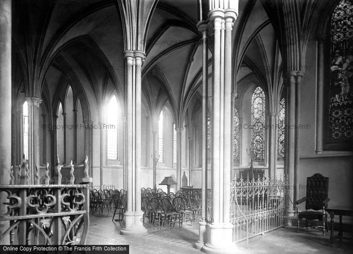 Photo of Dublin, St Patrick's Cathedral, Lady Chapel 1890