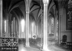 Dublin, St Patrick's Cathedral, Lady Chapel 1890