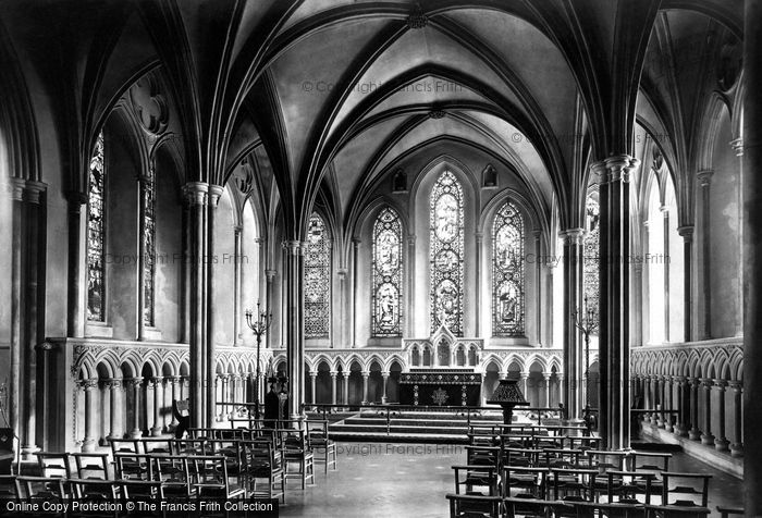 Photo of Dublin, St Patrick's Cathedral, Lady Chapel 1897