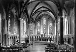 Dublin, St Patrick's Cathedral, Lady Chapel 1897