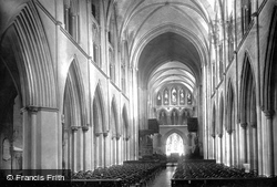 St Patrick's Cathedral, Nave East 1890, Dublin