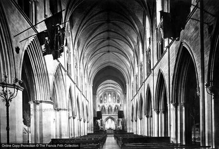 Photo of Dublin, St Patrick's Cathedral, Nave East 1897