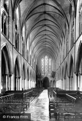 Dublin, St Patrick's Cathedral, Nave West 1897