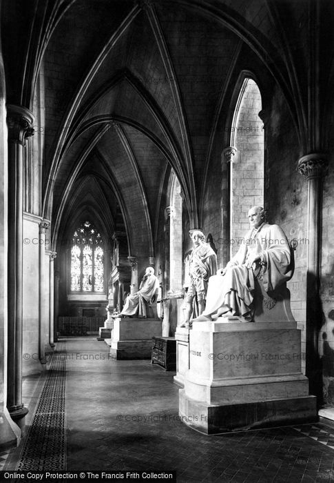 Photo of Dublin, St Patrick's Cathedral, North Aisle Nave 1897