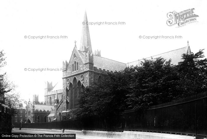 Photo of Dublin, St Patrick's Cathedral, South East 1897