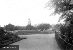 St Stephen's Green 1890, Dublin