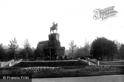 St Stephen's Green, The George II Statue 1897, Dublin