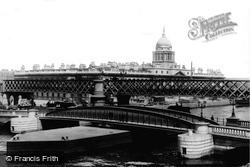The Bridges And Custom House 1897, Dublin