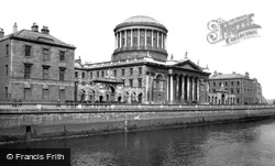 Dublin, The Four Courts 1897