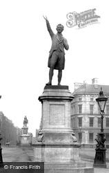 The Grattan Statue 1897, Dublin