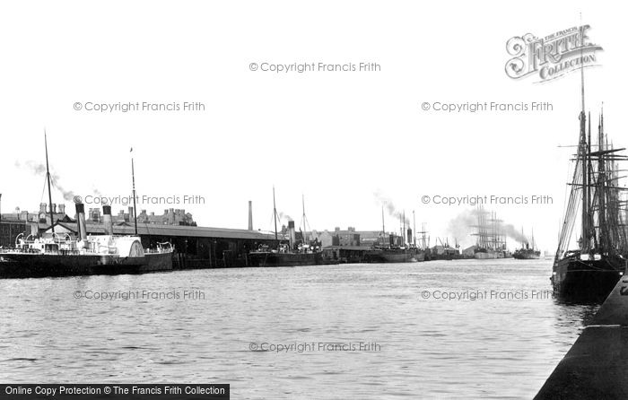 Photo of Dublin, The Harbour 1897