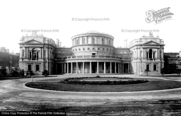 Photo of Dublin, The National Museum 1897