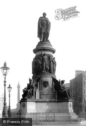 Dublin, The O'connell Monument 1897