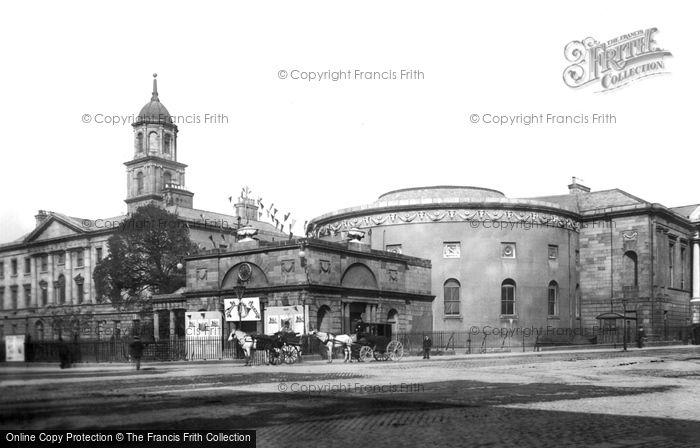 Photo of Dublin, The Rotunda And The Hospital 1897