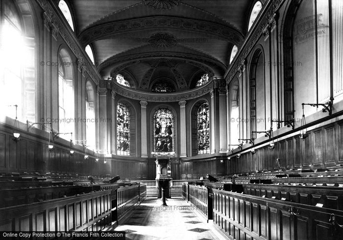 Photo of Dublin, Trinity College Chapel, East 1897