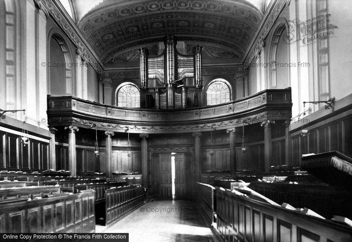 Photo of Dublin, Trinity College Chapel, West 1897
