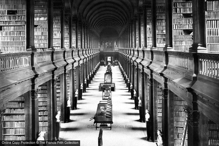 Dublin, Trinity College Library 1897