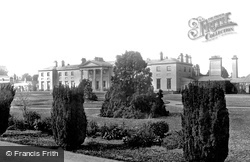 Dublin, Viceregal Lodge From Phoenix Park 1897