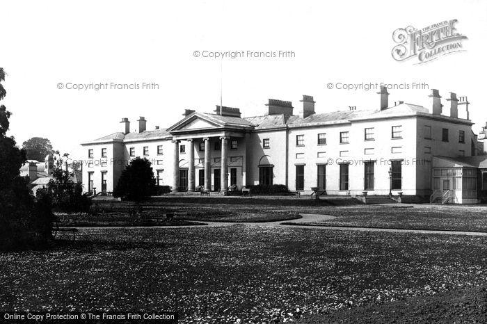 Photo of Dublin, Viceregal Lodge, Queens Entrance 1897