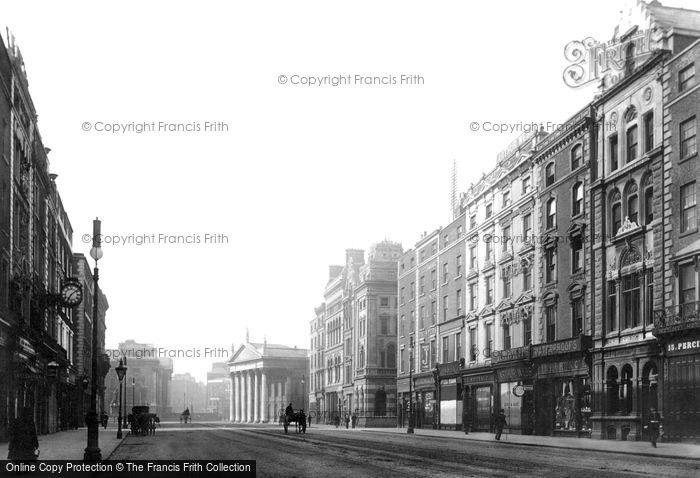 Photo of Dublin, Westmoreland Street 1897