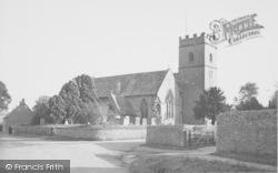The Church c.1950, Ducklington