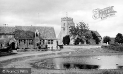 The Pond c.1950, Ducklington