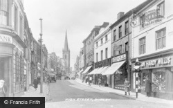 Dudley, High Street c.1950
