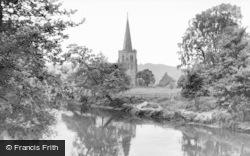Parish Church c.1960, Duffield