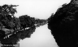 River Derwent c.1950, Duffield
