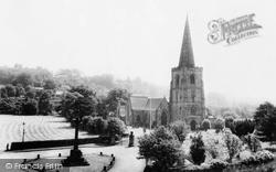 St Alkmund's Church And War Memorial c.1950, Duffield