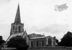 St Alkmund's Church c.1965, Duffield