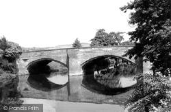 The Bridge And River Derwent c.1950, Duffield
