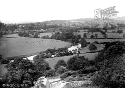 View From Bank c.1950, Duffield