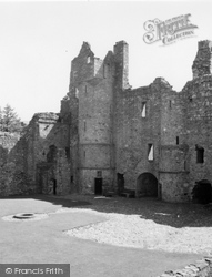 Dufftown, Balvenie Castle 1961