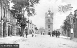 Dufftown, Tower From Church Street c.1900