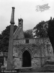 Duffus, St Peter's Church Ruins 1961