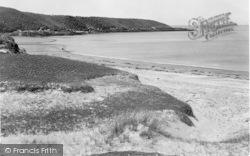 Point And Island From Lligwy Sands c.1938, Dulas
