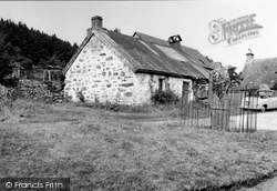 Dull, Old Cross In Village 1955