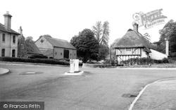 Dullingham, King's Head Corner c.1955