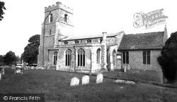 Dullingham, The Church c.1955