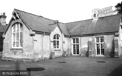 Dullingham, The School c.1955
