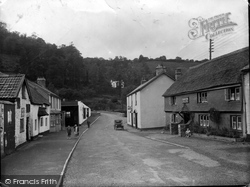 Dulverton, Bridge Street 1934