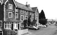 Dulverton, Carnarvon Arms Hotel c1960