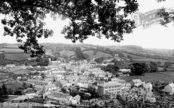 Dulverton, From The Cottage 1896