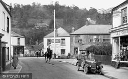 Dulverton, High Street 1934