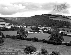 Dulverton, Pixton Park And Brushford 1934