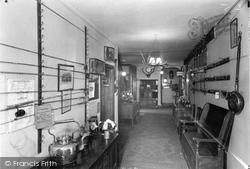 Dulverton, The Hall, Carnarvon Arms Hotel c.1960